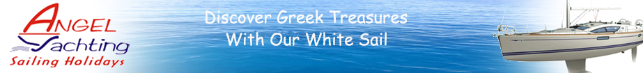 Discover Greek Treasures With Our White Sail